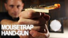 Here's a way you can turn a mousetrap into a powerful handgun that shoots up to 40 feet! It launches projectiles with both power, and precision. Cheap, easy ...