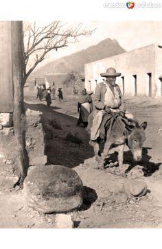 Monterrey, vista callejera, finales del siglo XIX
