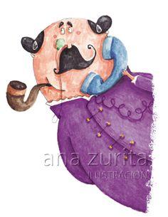 Todos los derechos reservados. Ana Zurita ilustraciones