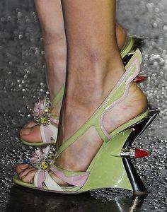 Prada Spring 2012 50s Hot Rod Heels