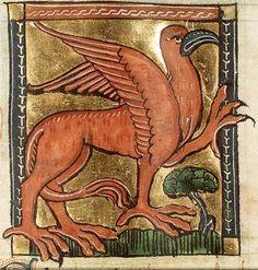 Griffin - Koninklijke Bibliotheek, KB, KA 16, Folio 87r