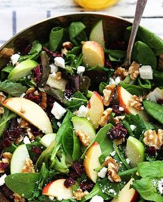 Gorgeous Apple Walnut Feta Salad – Page 2 – Home   delicious recipes to cook with family and friends.