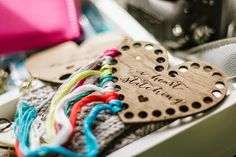 The cutest thread organizer.  I would love one of those! Bijou Lovely blog.