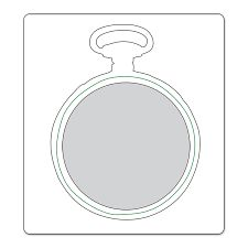 Image result for sizzix pocket watch die