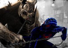 Mortal Kombat XI spiderman vs rhino by FredrikEriksson1 on DeviantArt