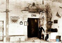 Socavón de la mina de la  valenciana a principios del siglo pasado.
