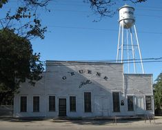 Gruene Hall Gruene Texas oldest dance hall in Texas!!! actually learned how to do the Two-Step here.....