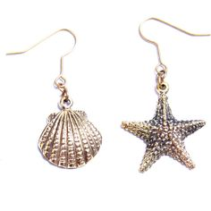 Mafia starfish earring Accessory Design Online store> Shop the... ❤ liked on Polyvore