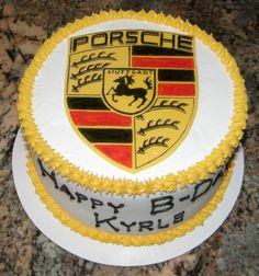 Porsche cake 60th Birthday Party, Birthday Ideas, Ferrari Cake, Porsche, Cupcake Cakes, Cupcakes, Unique Cakes, Party Cakes, Amazing Cakes