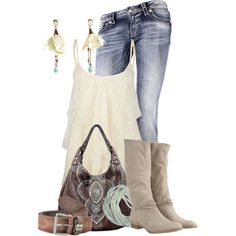 """""""Classy Cowgirl"""" by colierollers on Polyvore"""