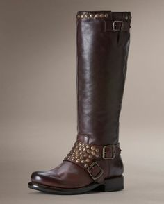 They went and did it again :)    Women's Jenna Studded Tall Boot - Dark Brown