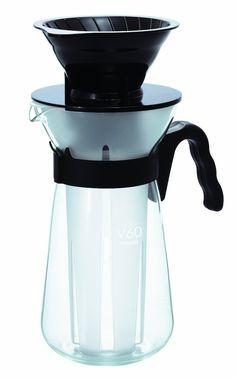 "HARIO V60 ICE COFFEE MAKER ""FRETTA"" - ICE COLD BREW - SIMPLE WAY TO COOL DOWN - Coffee & tea"