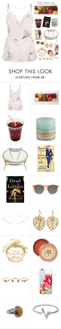 """""""swim"""" by mzuri ❤ liked on Polyvore featuring GlassesUSA, Jennie Kwon, The Sak, Anthropologie, House of Harlow 1960 and Jewel Exclusive"""