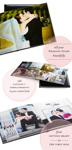 Shutterfly Photo Books. Great for a photo guest book or just to have as a memory if the day!