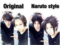 Now I know which was the original photo ❤️❤️❤️ Itachi and Sasuke Itachi, Naruto Uzumaki, Naruto Cosplay, The Originals, Movie Posters, Anime, Movies, Films, Film Poster
