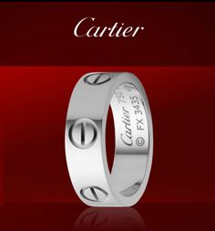 Cartier Love Ring-almost always on my right index finger