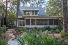 Screened Back Porch | Lowcountry Living | Vacation Homes Palmetto Bluff | Outdoor Living Inspiration | Luxury Real Estate Bluffton, South Carolina