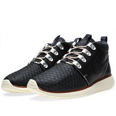 "check out 38a3a d3bb0 Nike Roshe Run Sneakerboot QS ""Black"""