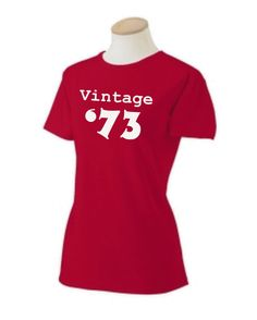 Party Like it's 1973 Gift Guide - 40th birthday shirt by OodlesDecals