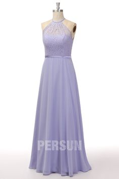 Robe cortège mariage longue lilas haut dentelle col américain Prom Dresses, Formal Dresses, Fashion, Midnight Blue, Dress Ideas, Dresses For Formal, Moda, Formal Gowns, Fashion Styles