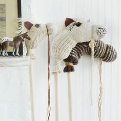 Here are some fun ideas for re-purposing woollens and socks. I know I always end up with more than a few mismatched socks and kids very ...