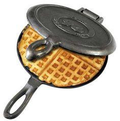 Cast Iron Waffle Iron- I would like one!