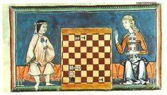 Mercados Medievales y Renacentistas: Moda en Al-Ándalus, s. XIII: Mujer Andalusí y Mujer Carstellan. El libro de los juegos.