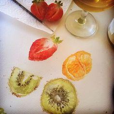 Dolphin Art, Amy, Doodles, Fruit, Food, Essen, Meals, Yemek, Donut Tower