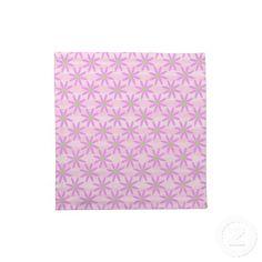 Set of 4 Pretty Pink Daisy Napkins