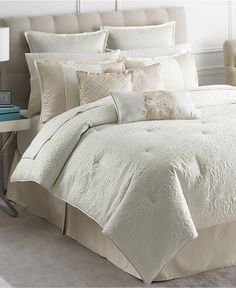 Martha Stewart Collection Marble Flowers 9 Piece Full Comforter Set - Bed in a Bag - Bed & Bath - Macy's