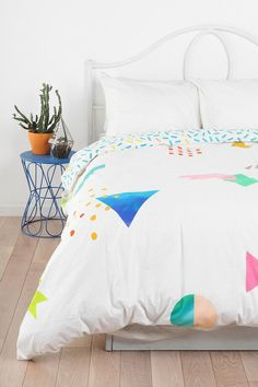 Beci Orpin Random Geo Duvet from urban outfitters
