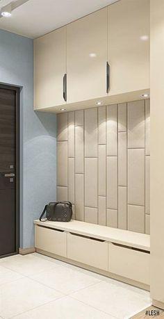 Housing design in the condominium Academ Park Closet Design, House Design, Foyer Design, House Interior, House, Home, Home Entrance Decor, Home Decor, Mudroom Design