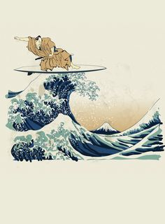 Tricou Personalizat The Great Wave