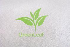 tree, tea, leaf, green logo Template by Design Studio Pro on @creativemarket