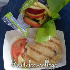 Eating Clean on a College Budget: my first gluten free meal on the road, find out what I ate and where I got it from! You'll be surprised! #eatclean #healthycollege