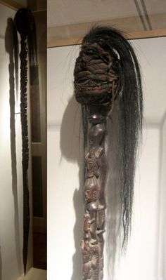 Tunggal panaluan (magic staff used by shamans of the Batak people), Yohn Young Museum of Art, University of Hawaii at Manoa.jpg