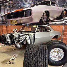 69 Camaro Drag Car