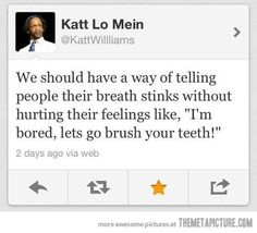 LMAO! ~Kat Williams~ @Mrs. Christine B @Layla Lopez  I can't this is too funny