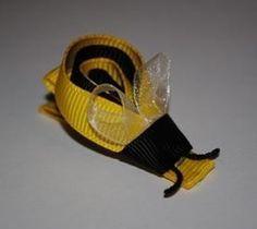 cute bee hair clip