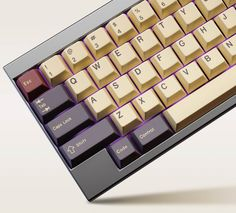 Jessica is debuting her first official set - The buy for the GMK Plum Custom Keycap Set just started today on Massdrop.com  #keycaps #mechanicalkeyboards #tastaturen