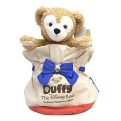 【Only Bag!】Disney Duffy Bear Bag Limited Tokyo Disney Sea JAPAN