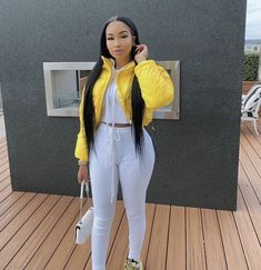 Uploaded by PINKC. Find images and videos on We Heart It - the app to get lost in what you love. Swag Outfits For Girls, Dope Outfits, Classy Outfits, Trendy Outfits, Fall Outfits, Fashion Outfits, Karin Jinsui, Black Girl Fashion, Queen