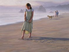 """Love Letters in the Sand"" (2005), by American artist - Robert Duncan (1952 - )"