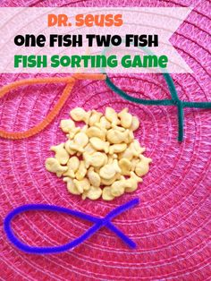 Dr. Seuss Game – Dr. Seuss One Fish Two Fish Sorting Game Dr. Seuss One Fish Two Fish is a popular book among children, and now it is about to be a popular game! To play this game, you only n…