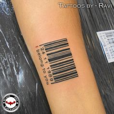 """barcode tattoo"" A very unique concept for couples!! take a look!! #barcode #blacktattoo #inkmachines #ink_masters #coupletattoo #inkedmag #instainklife #inkjunkeyz #lovetattoo #thebesttattooartists #tattooworkers #tattoooftheday #cooltattoos #crazyytattoos #blacktattoo #tatuajes #traditionaltattoo #radtattoos #darkartists #inkup #oldlines #neotraditionaltattoo #dotwork #tattooup #inkaddicts #tattoosnob #coupletattoo"