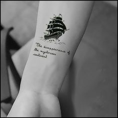 3pcs Temporary tattoo stickers pirate ship boat chain designs Waterproof new 3d art drawings body painting tatoo free shipping