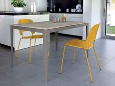 Buy Domitalia Wind Extending Dining Table Set with 4 Traffic Chairs, Mustard online from our Style Our Home. Chair Backs, Extendable Dining Table, William Morris, Steel Frame, Taupe, Dining Chairs, Contemporary, The Originals, Compact