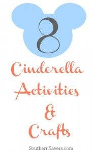 If your kid is into Cinderella thanks to the new Cinderella movie coming out, here are some DIY Cinderella crafts and activities for them to enjoy.