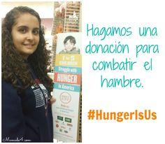 Hagamos una donación para combatir el hambre y ayudar a los niños  #HungerIsUs #Ad #Sponsored