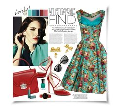 Vintage Find by ellergy on Polyvore featuring polyvore, fashion, style, N.Y.L.A., Vintage, Larsson & Jennings, vintage and clothing
